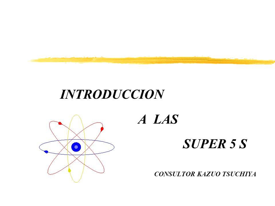 INTRODUCCION A LAS SUPER 5 S CONSULTOR KAZUO TSUCHIYA