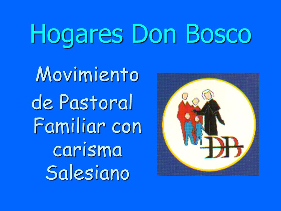 de Pastoral Familiar con carisma Salesiano