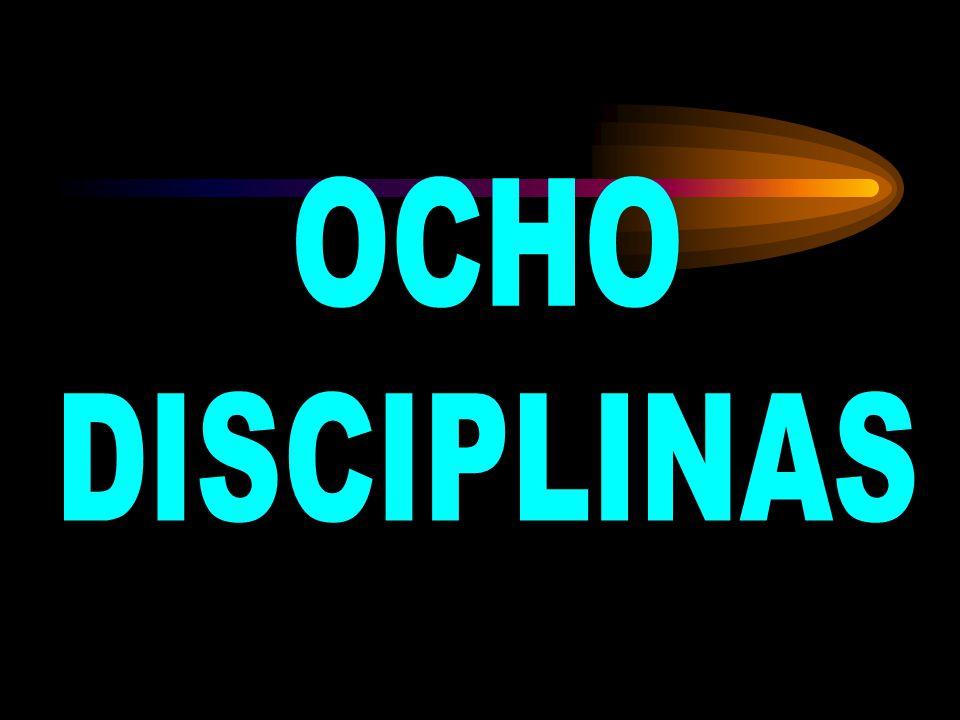 OCHO DISCIPLINAS