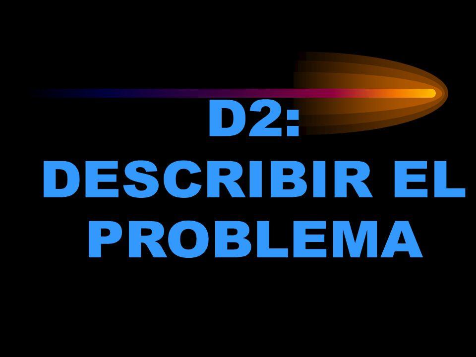 D2: DESCRIBIR EL PROBLEMA