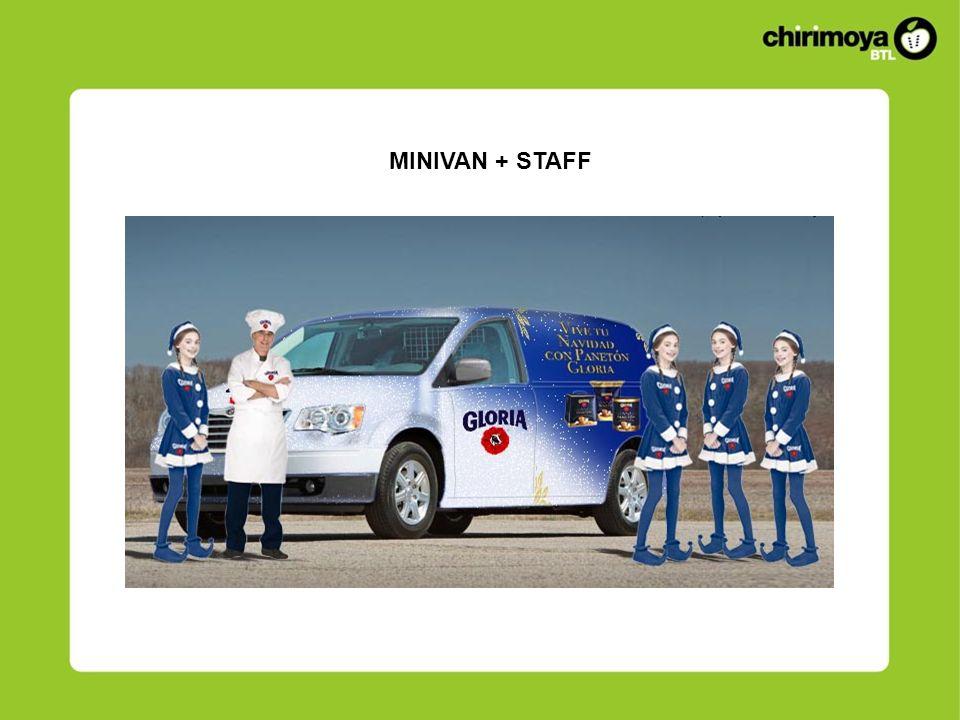 MINIVAN + STAFF