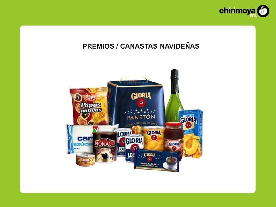 PREMIOS / CANASTAS NAVIDEÑAS