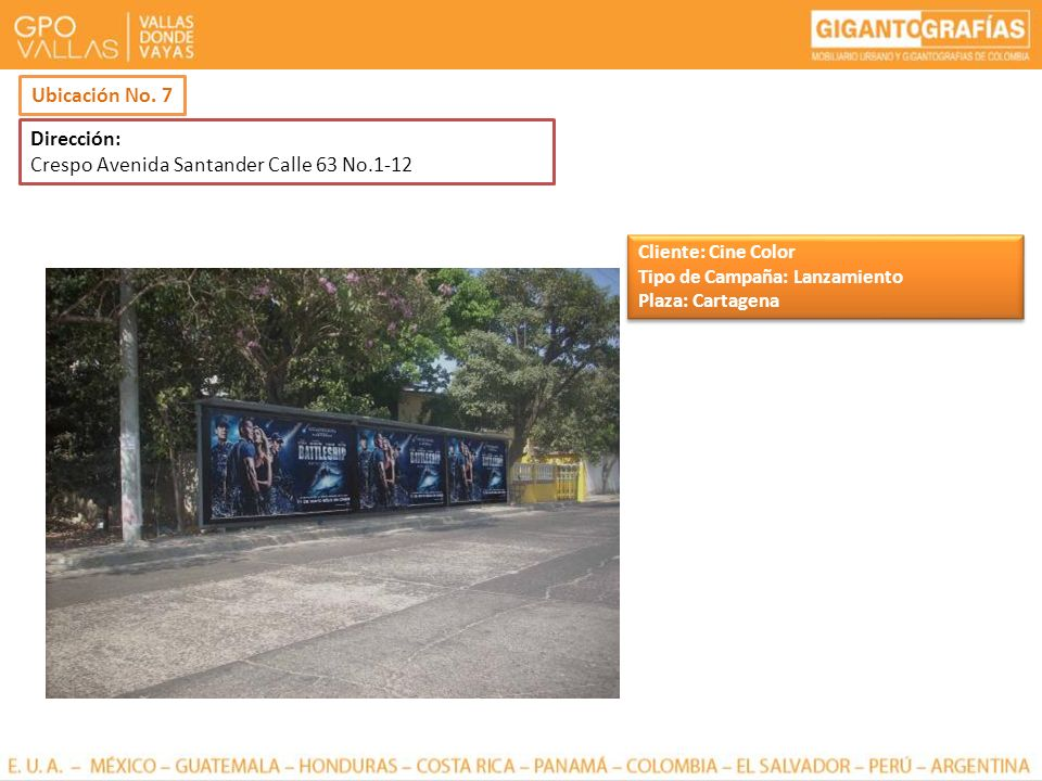 Crespo Avenida Santander Calle 63 No.1-12