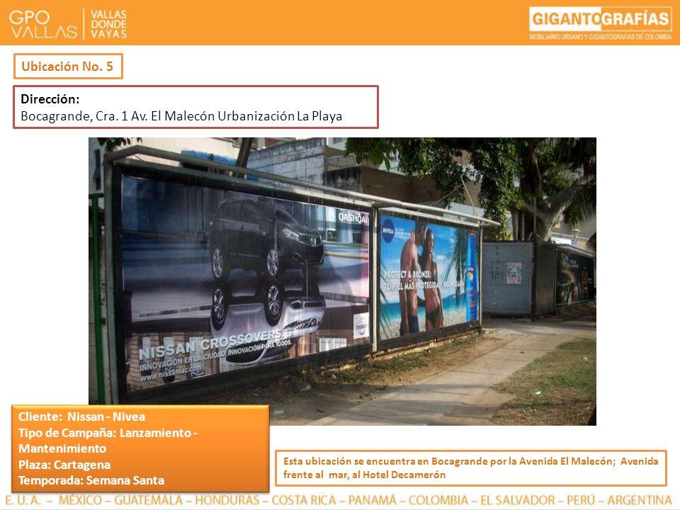 Bocagrande, Cra. 1 Av. El Malecón Urbanización La Playa