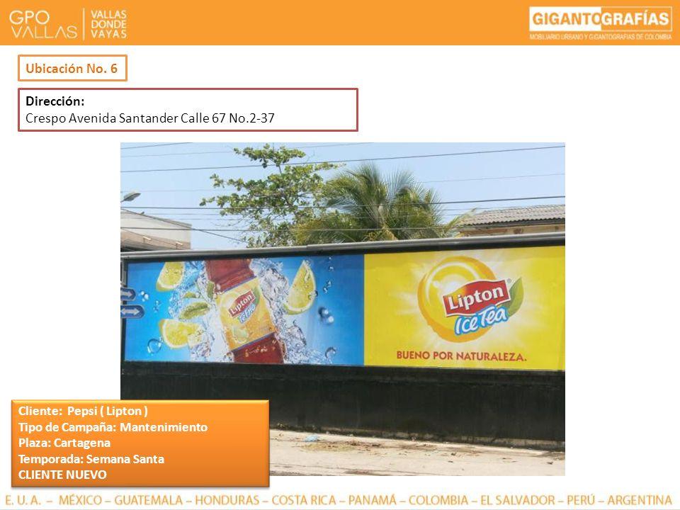 Crespo Avenida Santander Calle 67 No.2-37