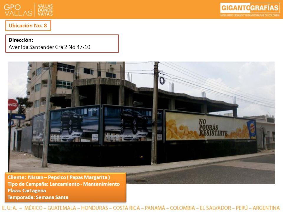 Avenida Santander Cra 2 No 47-10