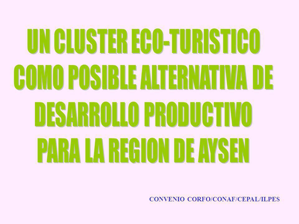 UN CLUSTER ECO-TURISTICO COMO POSIBLE ALTERNATIVA DE