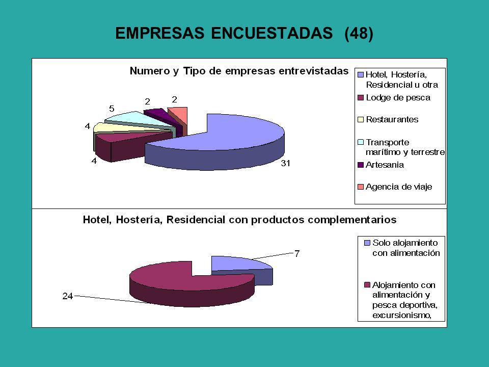 EMPRESAS ENCUESTADAS (48)