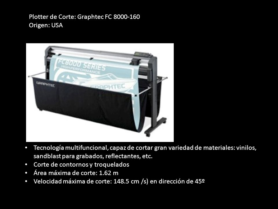 Plotter de Corte: Graphtec FC 8000-160