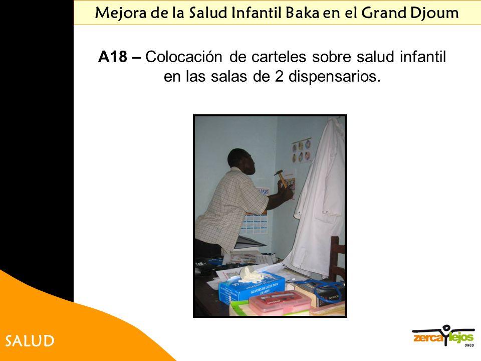 Mejora de la Salud Infantil Baka en el Grand Djoum