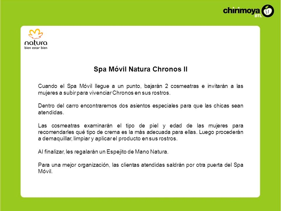 Spa Móvil Natura Chronos II