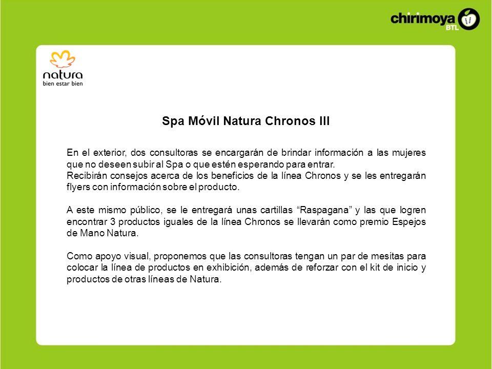 Spa Móvil Natura Chronos III