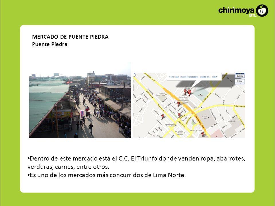 Es uno de los mercados más concurridos de Lima Norte.