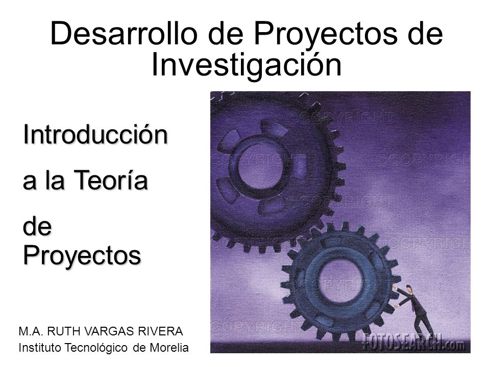 Desarrollo de Proyectos de Investigación