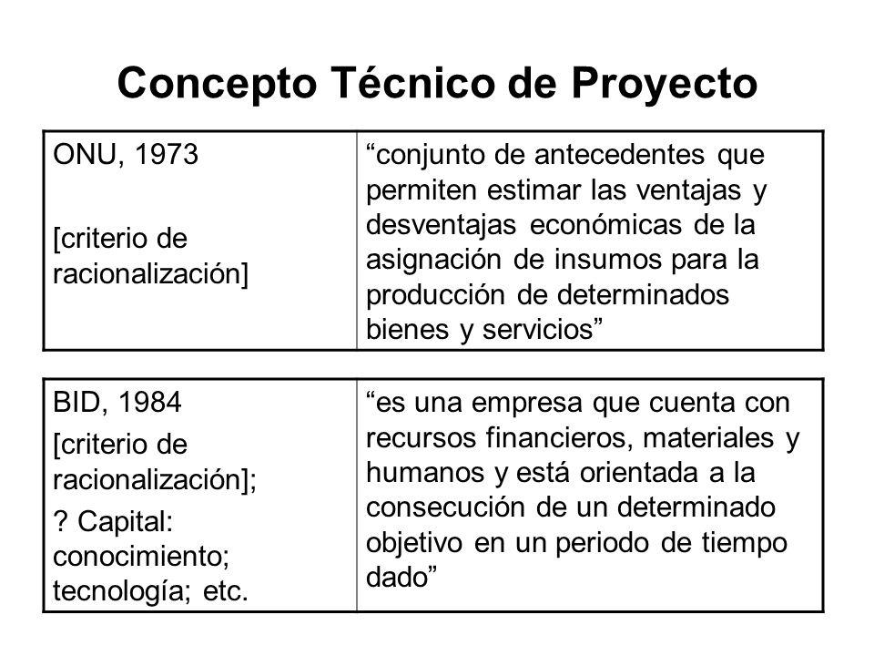 Concepto Técnico de Proyecto