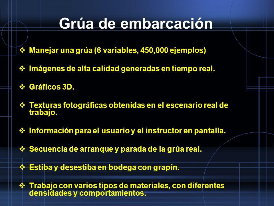 Grúa de embarcación Manejar una grúa (6 variables, 450,000 ejemplos)