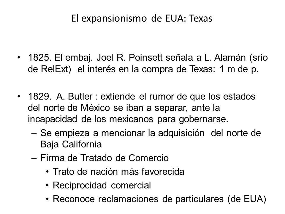 El expansionismo de EUA: Texas