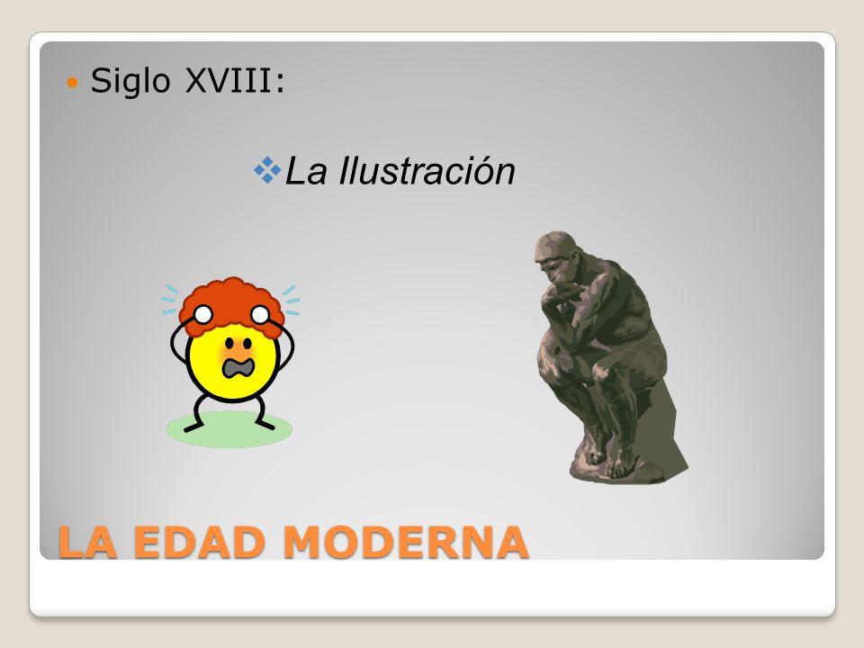Siglo XVIII: La Ilustración LA EDAD MODERNA