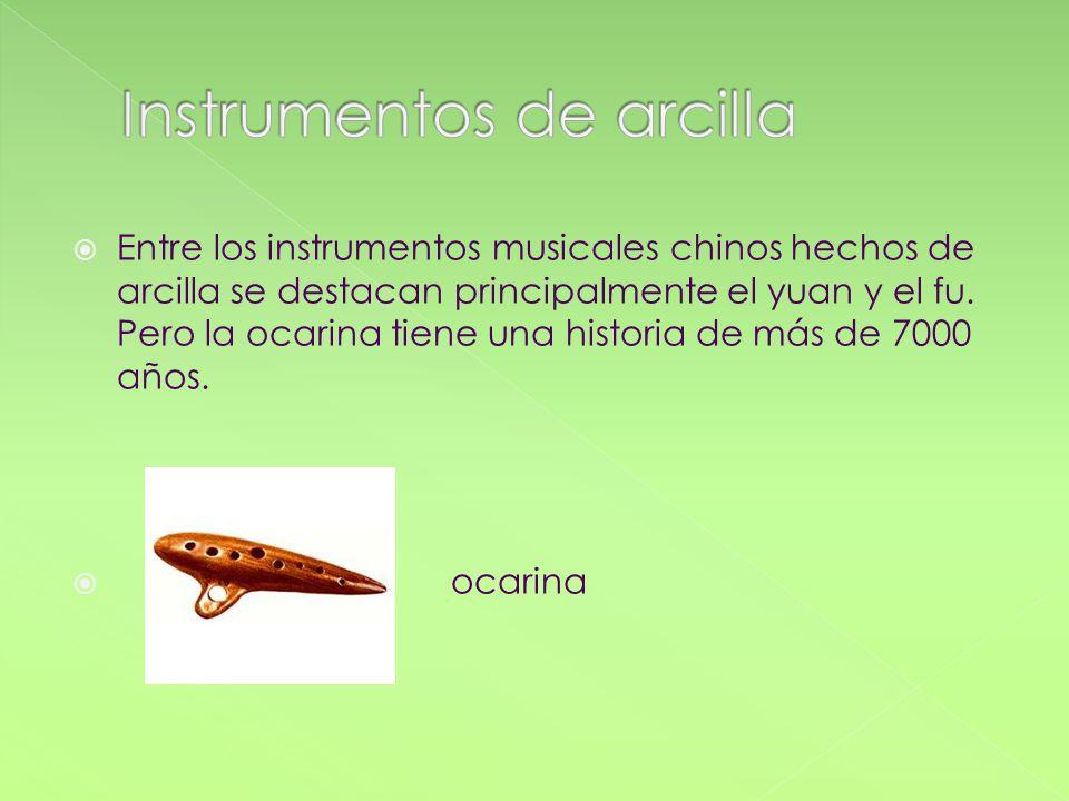 Instrumentos de arcilla