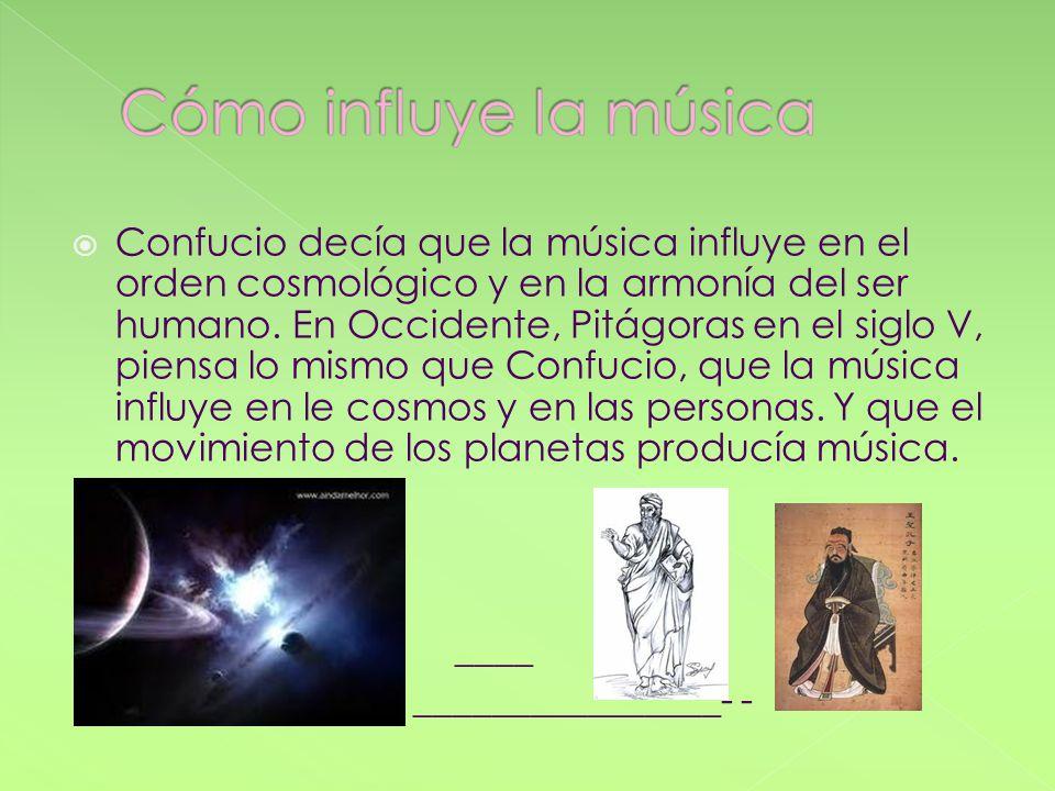 Cómo influye la música