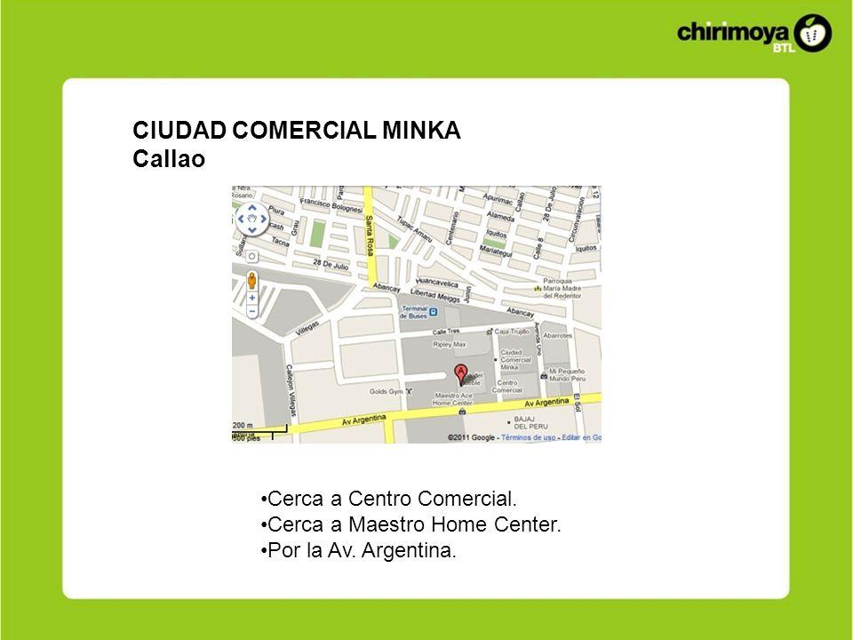 CIUDAD COMERCIAL MINKA Callao