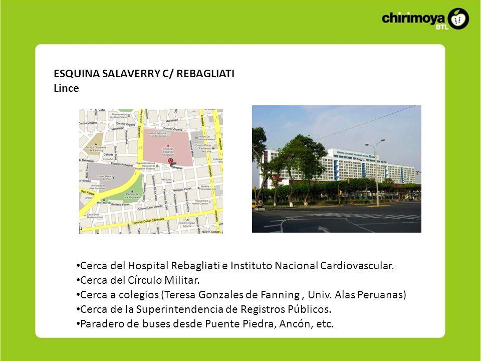 ESQUINA SALAVERRY C/ REBAGLIATI