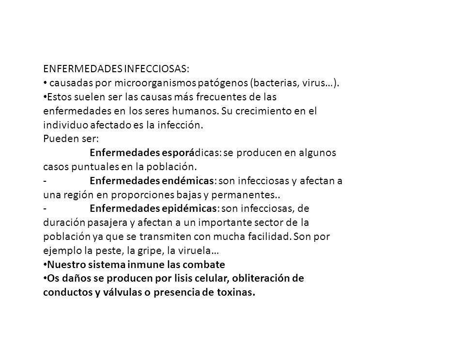 ENFERMEDADES INFECCIOSAS: