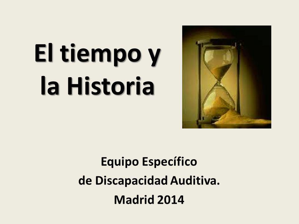 Equipo Específico de Discapacidad Auditiva. Madrid 2014