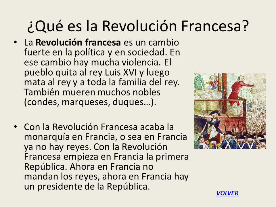 ¿Qué es la Revolución Francesa