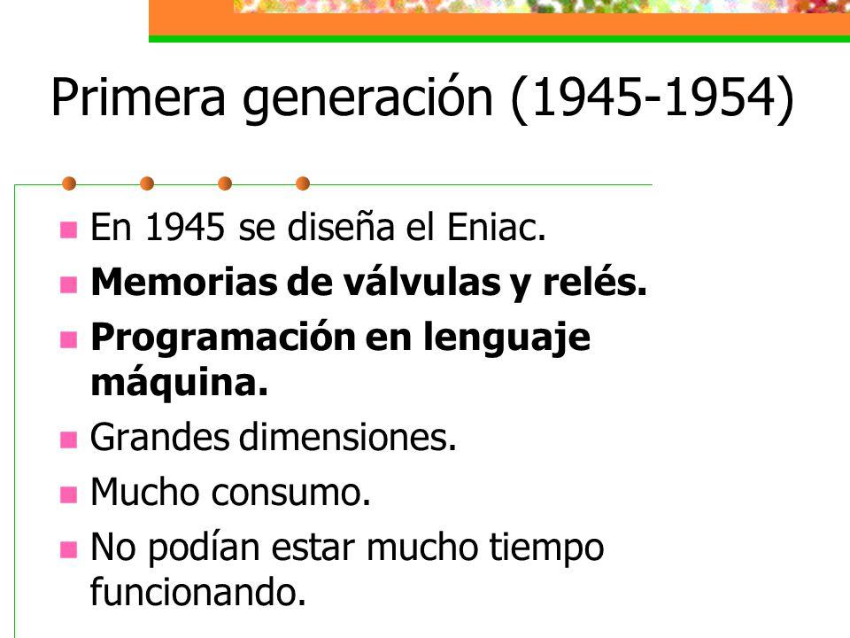 Primera generación (1945-1954)