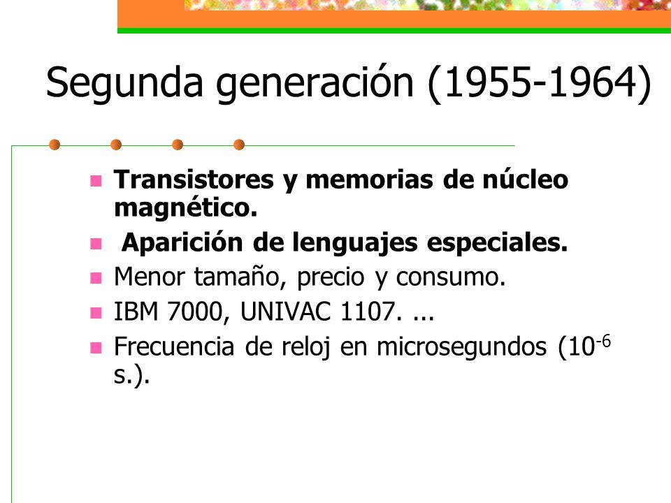 Segunda generación (1955-1964)
