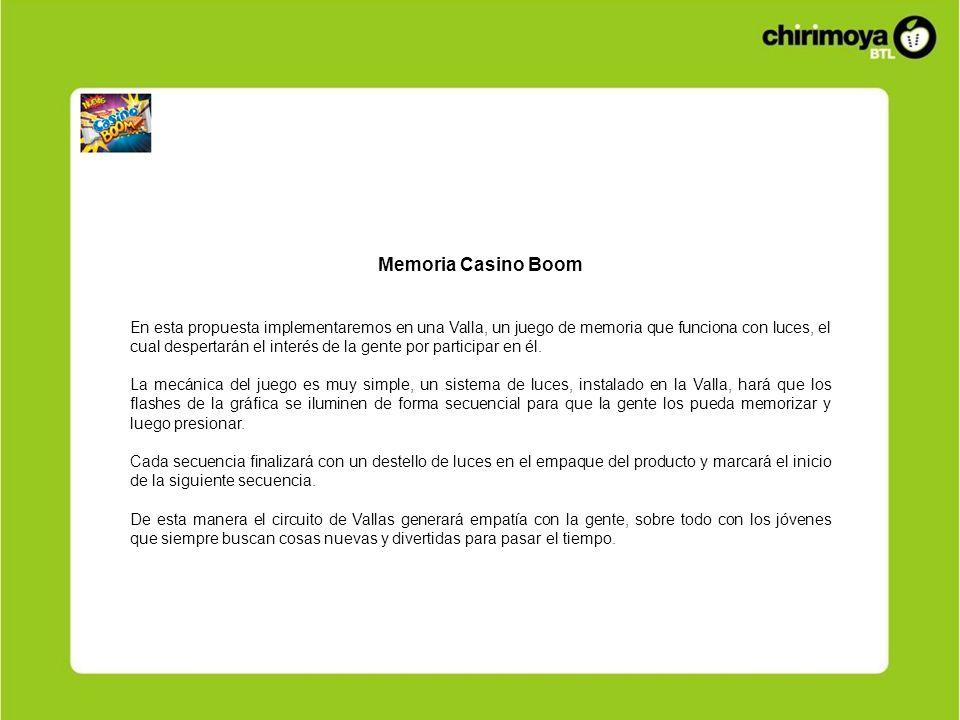 Memoria Casino Boom