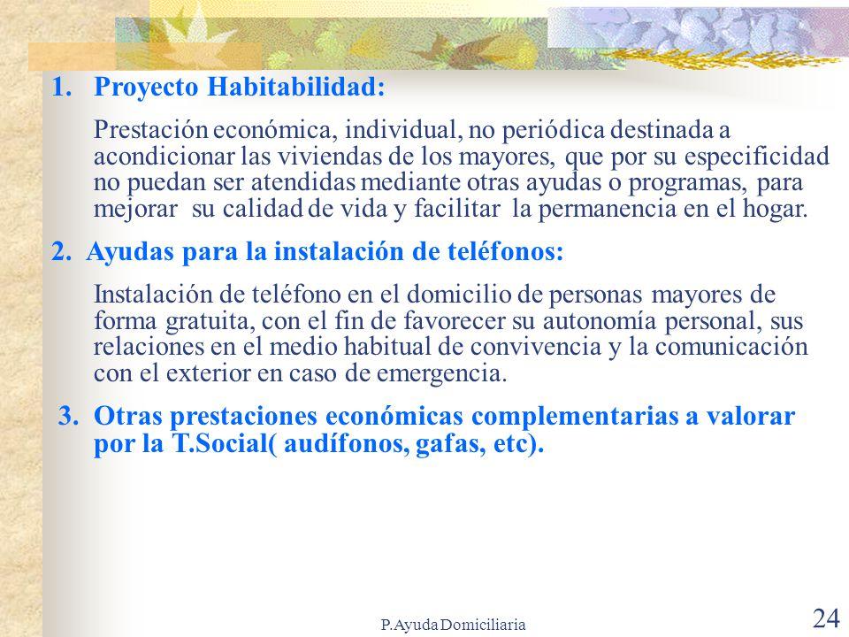 Proyecto Habitabilidad: