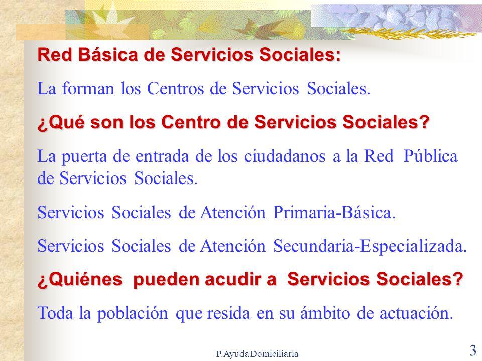 Red Básica de Servicios Sociales: