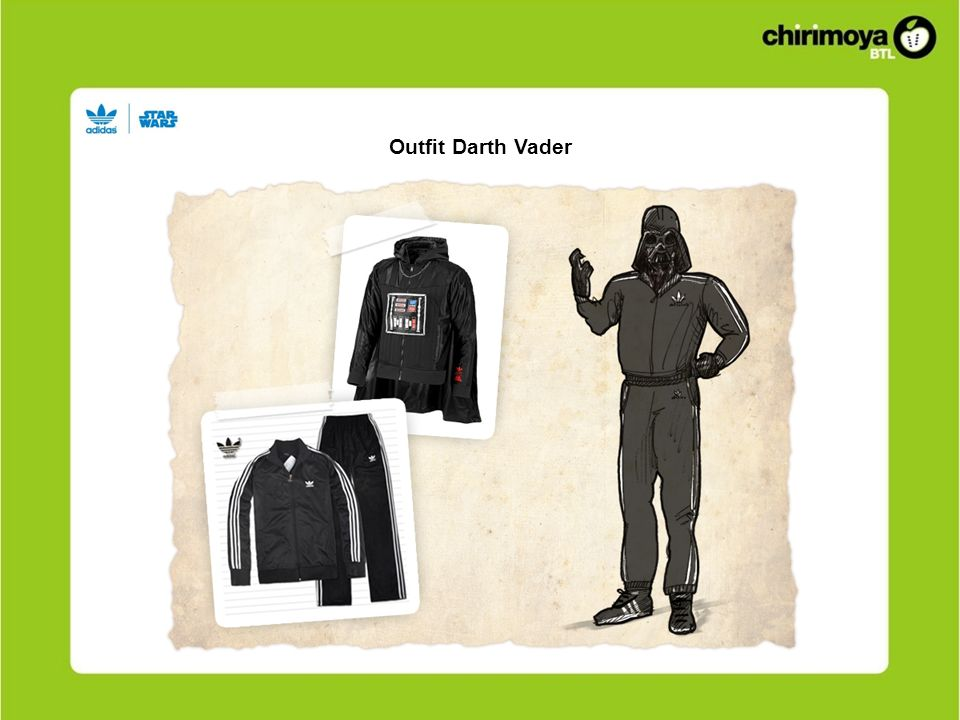 Outfit Darth Vader