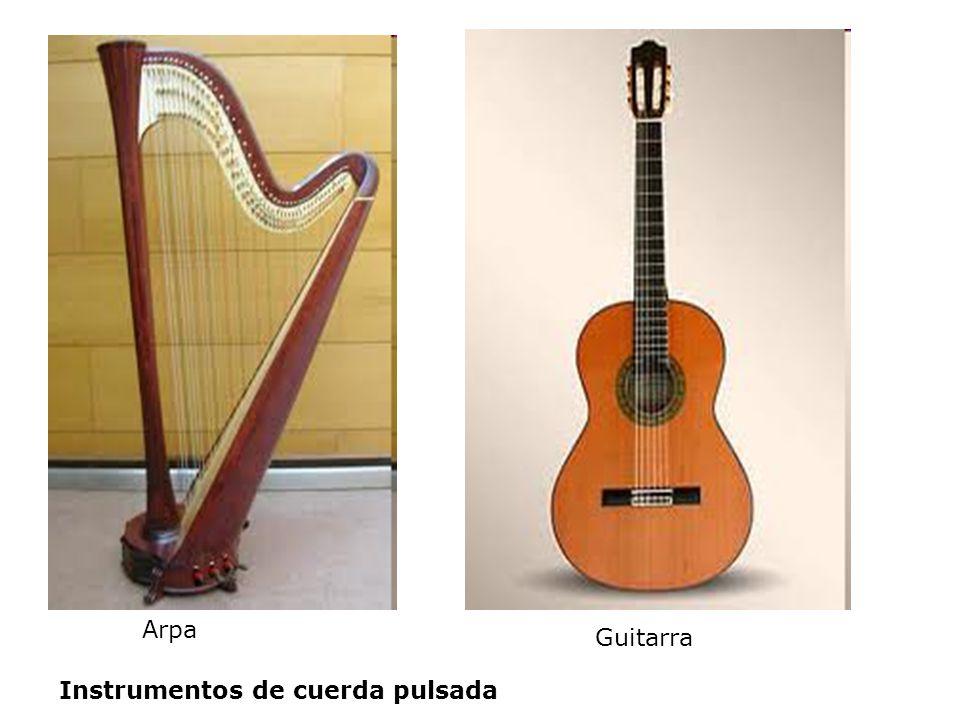 Arpa Guitarra Instrumentos de cuerda pulsada