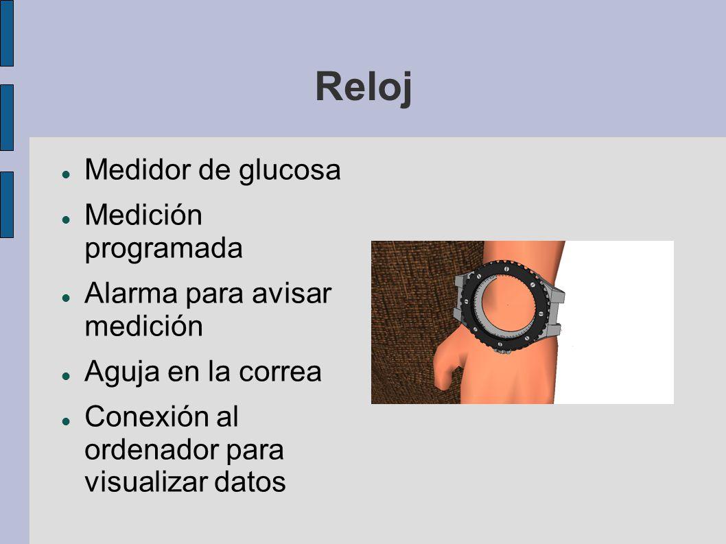 Reloj Medidor de glucosa Medición programada