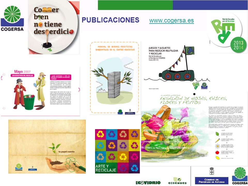 PUBLICACIONES www.cogersa.es