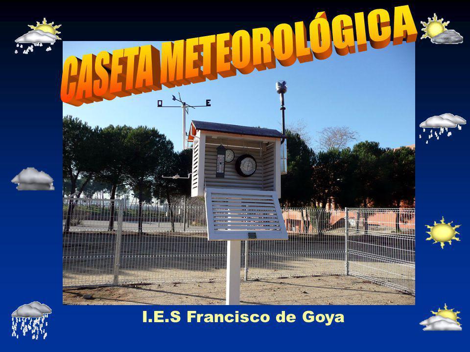 CASETA METEOROLÓGICA I.E.S Francisco de Goya