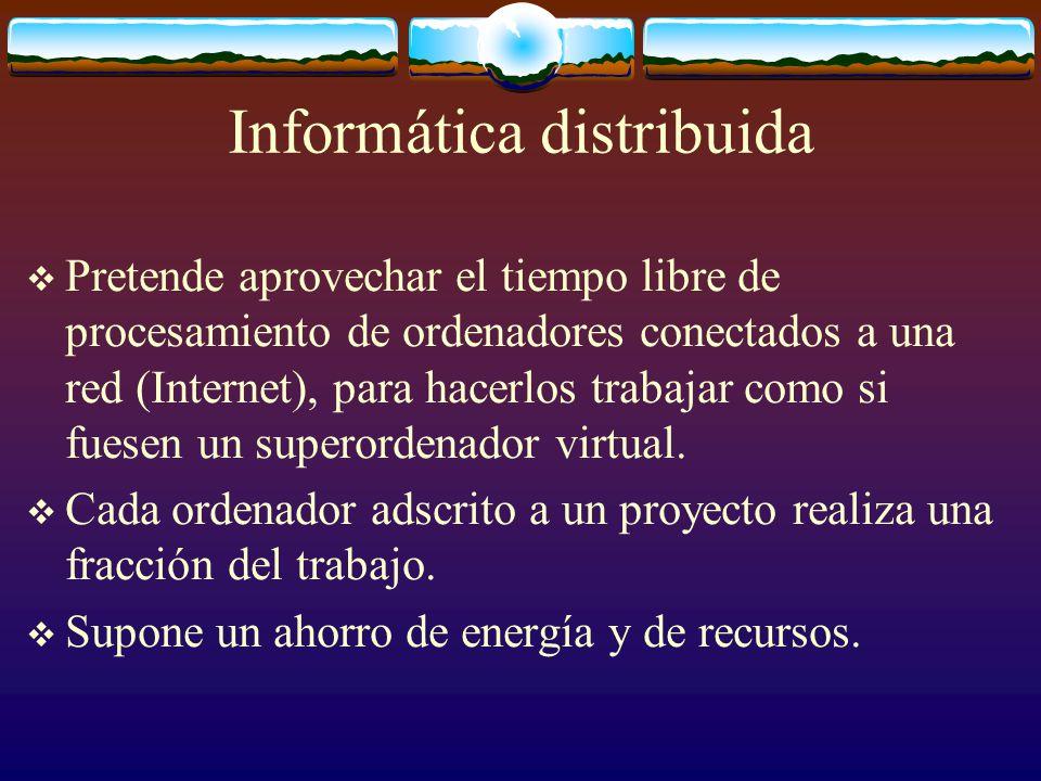 Informática distribuida