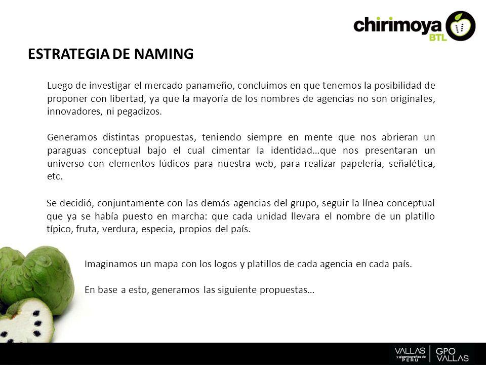 ESTRATEGIA DE NAMING
