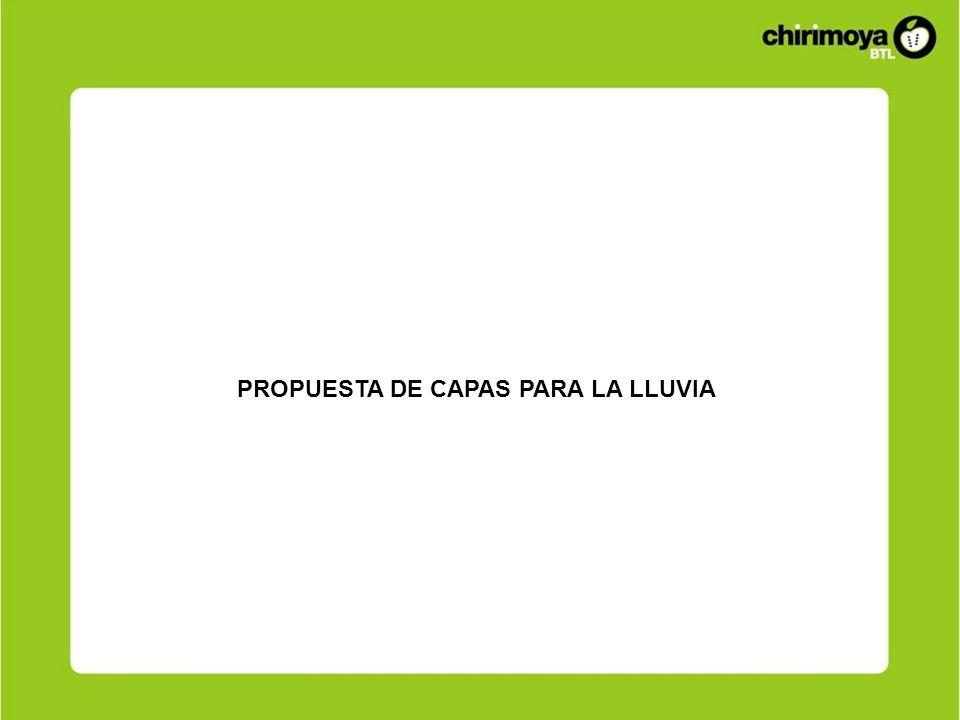 PROPUESTA DE CAPAS PARA LA LLUVIA