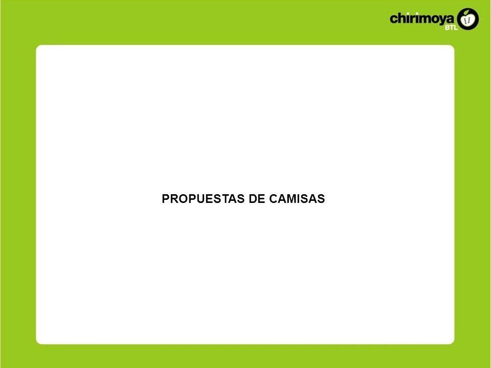 PROPUESTAS DE CAMISAS