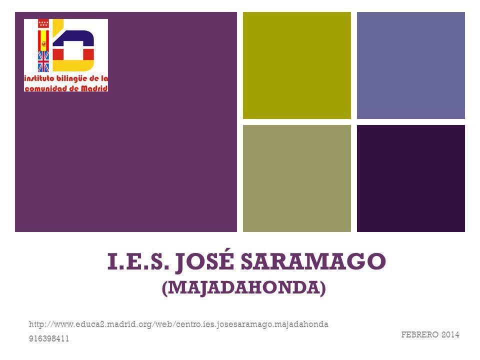 I.E.S. JOSÉ SARAMAGO (MAJADAHONDA)