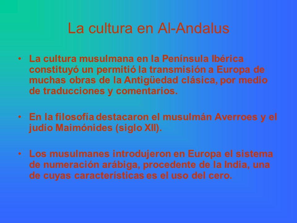 La cultura en Al-Andalus
