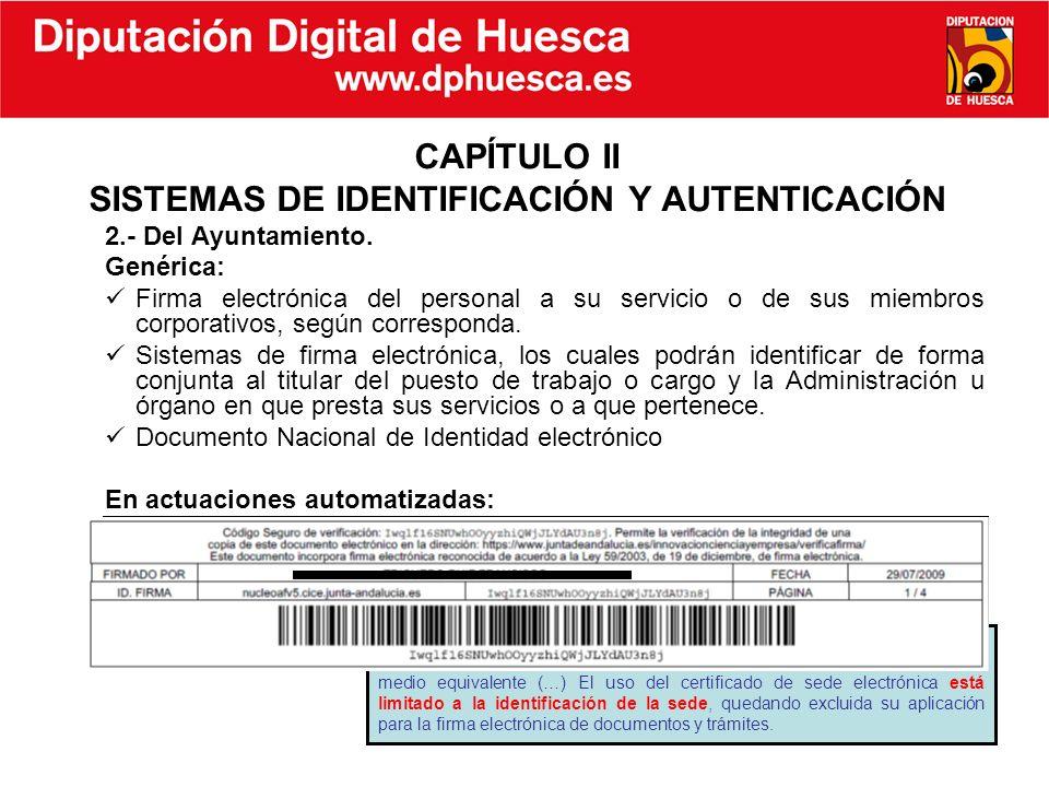 CAPÍTULO II SISTEMAS DE IDENTIFICACIÓN Y AUTENTICACIÓN