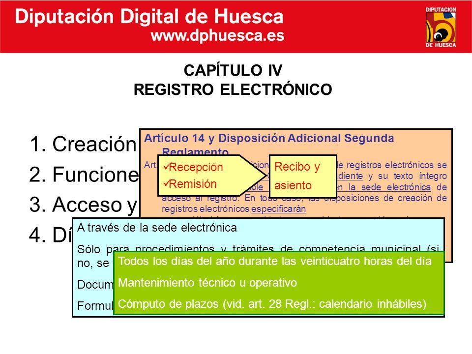 CAPÍTULO IV REGISTRO ELECTRÓNICO