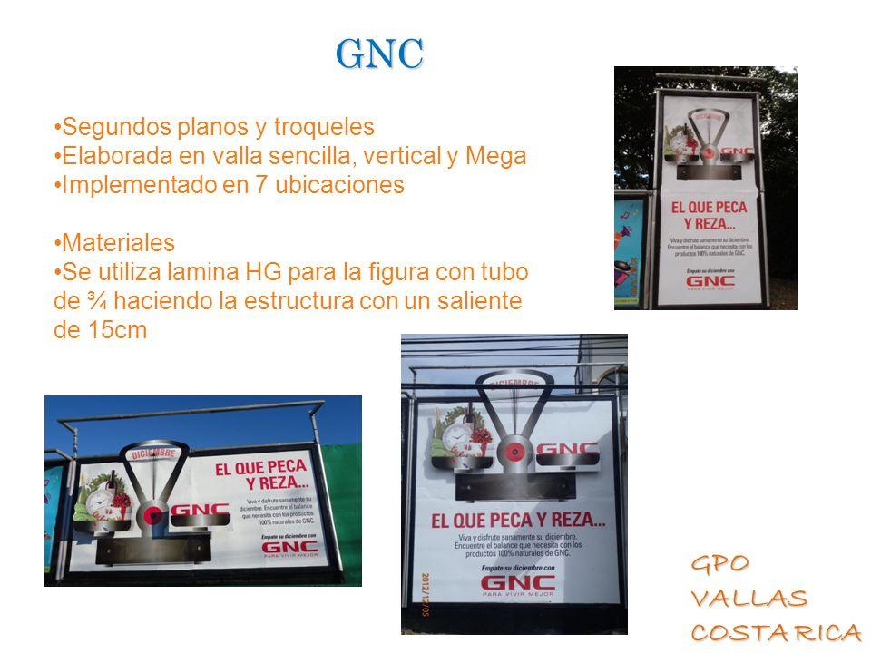 GNC Segundos planos y troqueles