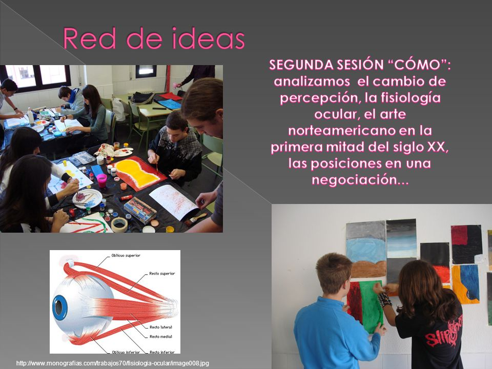 Red de ideas