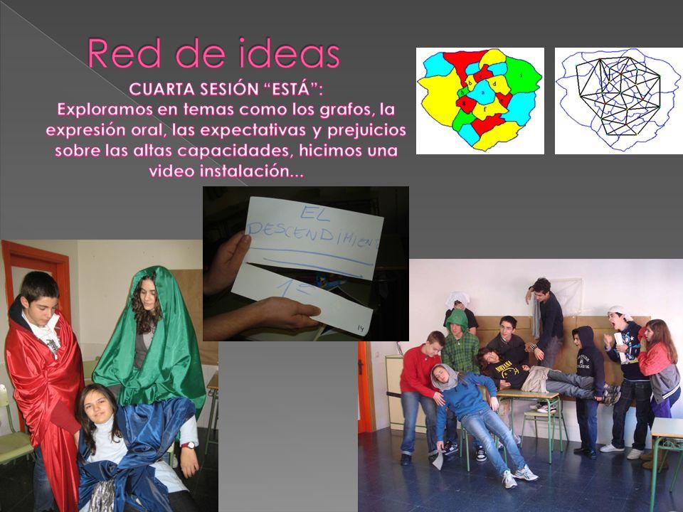 Red de ideas CUARTA SESIÓN ESTÁ :